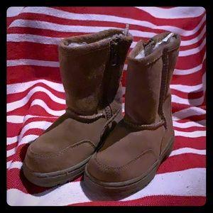 🔥3/$15 Cherokee suede Zip up toddler boots